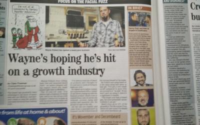Local News for Beard Juice, next THE WORLD