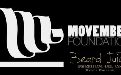 Beard Juice and the Movember Foundation