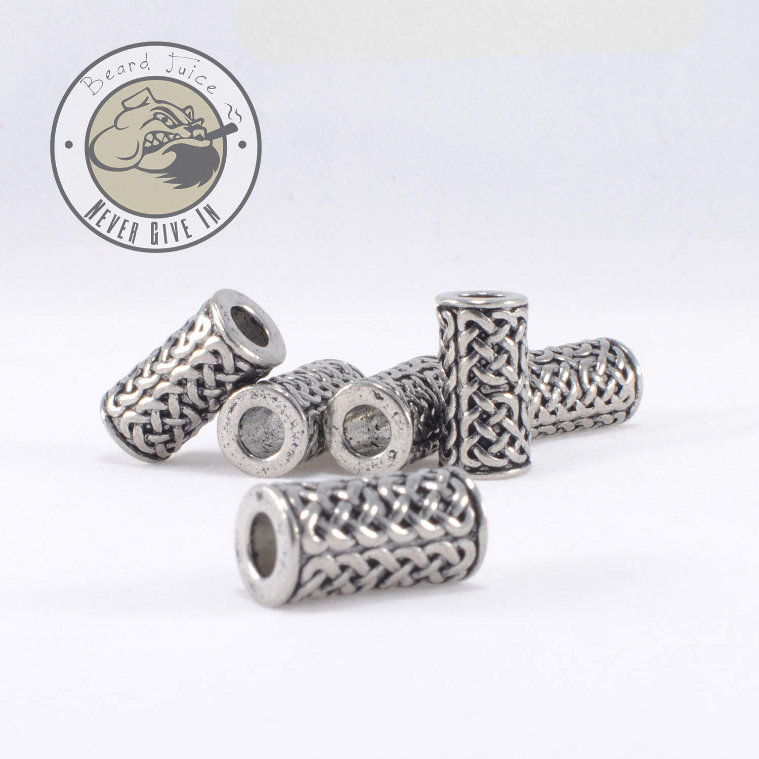 celtic tower beard beads