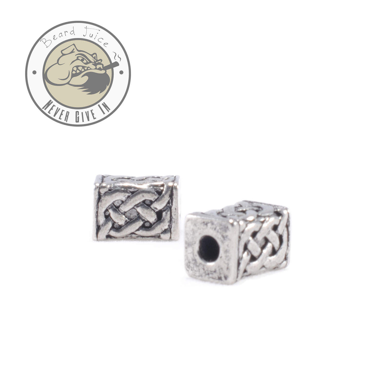 celtic brick beard beads