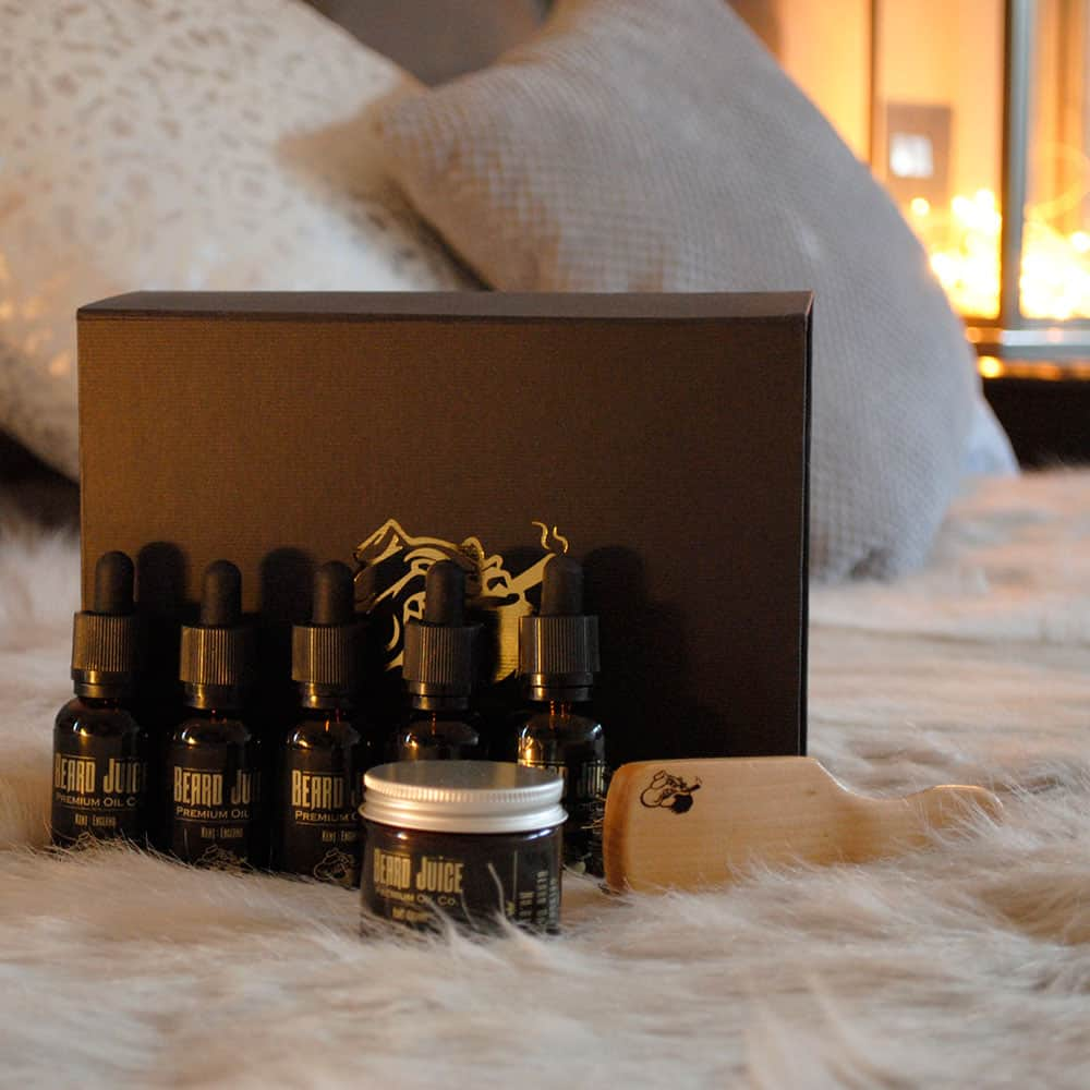 5 beard oils gift set