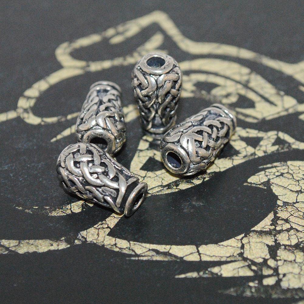 celtic urn beard bead
