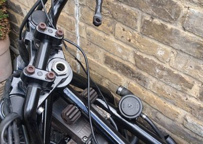 bigger handlebars, smaller brake lines!