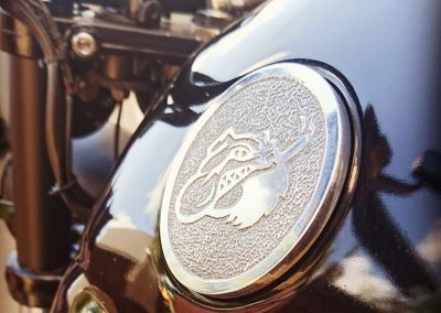BMW K100 Cafe Racer Beard Juice Logo