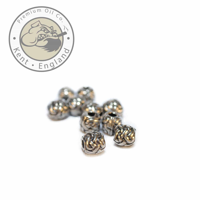 celtic sphere beard bead 9mm