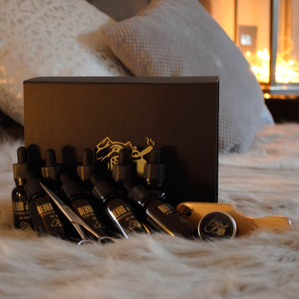THE beard oil gift set
